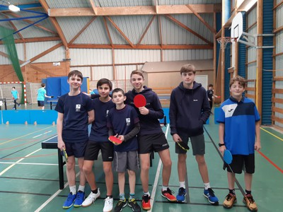 COMPETITION DEPT TENNIS DE TABLE 4 - JANV 20