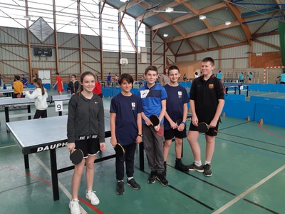 COMPETITION DEPT TENNIS DE TABLE 5 - JANV 20